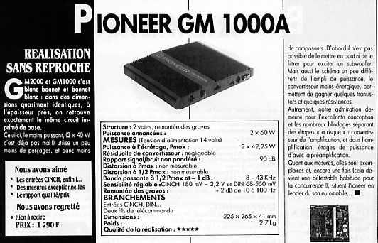 pioneer gm 1000 40 rh forum eshop bg